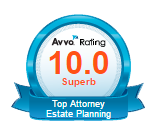 Avvo estate planning badge