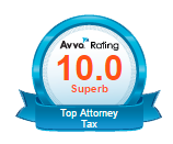 Avvo tax badge